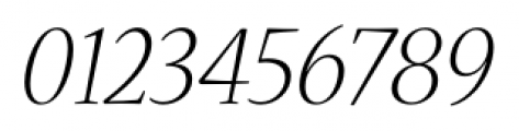 Nueva� Std Light Italic Font OTHER CHARS