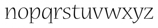 Nueva� Std Light Font LOWERCASE