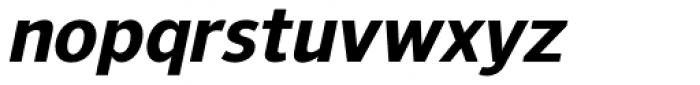 NuOrder ExtraBold Italic Font LOWERCASE