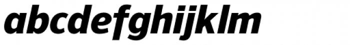 NuOrder Heavy Italic Font LOWERCASE