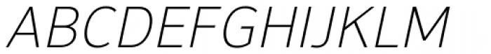 NuOrder Light Italic Font UPPERCASE