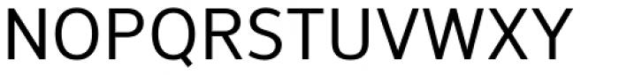NuOrder Medium Font UPPERCASE