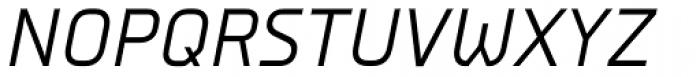 Nubb Italic Font UPPERCASE