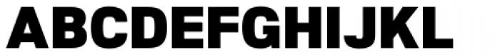 Nuber Black Font UPPERCASE