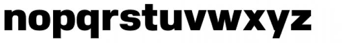 Nuber Black Font LOWERCASE