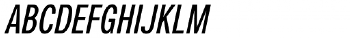 Nuber Next Bold Compressed Italic Font UPPERCASE
