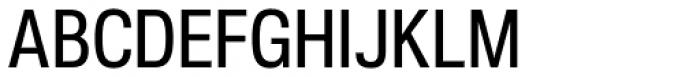 Nuber Next Demi Bold Condensed Font UPPERCASE