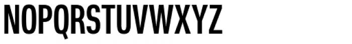 Nuber Next Heavy Compressed Font UPPERCASE