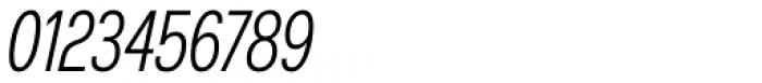 Nuber Next Regular Compressed Italic Font OTHER CHARS