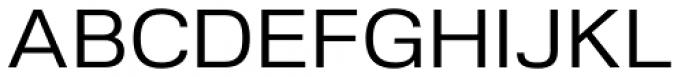 Nuber Next Regular Wide Font UPPERCASE