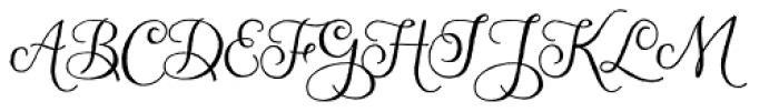Nubila Font UPPERCASE