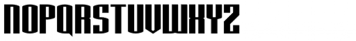 Nuclear Standard Font UPPERCASE