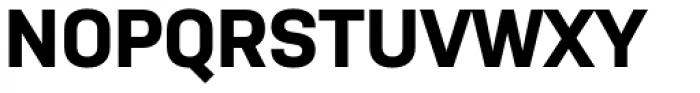Nudista Bold Font UPPERCASE