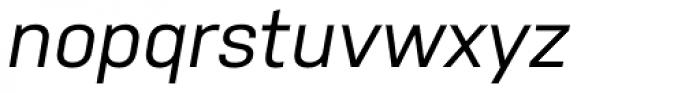 Nudista Italic Font LOWERCASE