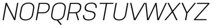Nudista Light Italic Font UPPERCASE