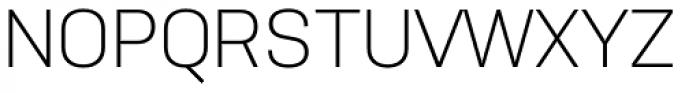 Nudista Light Font UPPERCASE