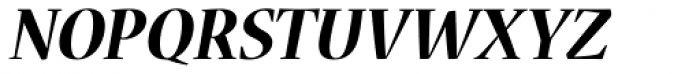 Nueva Std Bold Italic Font UPPERCASE