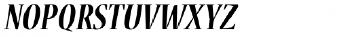 Nueva Std Cond Bold Italic Font UPPERCASE