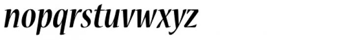 Nueva Std Cond Bold Italic Font LOWERCASE