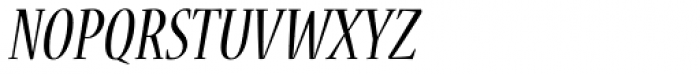 Nueva Std Cond Italic Font UPPERCASE