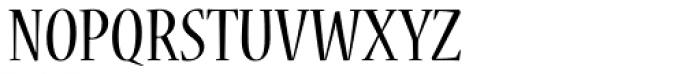 Nueva Std Cond Regular Font UPPERCASE