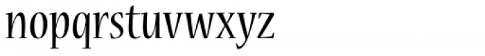 Nueva Std Cond Regular Font LOWERCASE