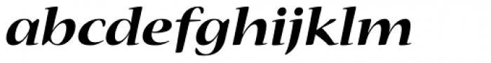 Nueva Std Ext Bold Italic Font LOWERCASE