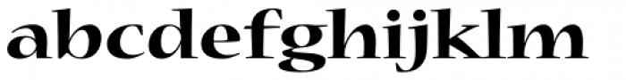 Nueva Std Ext Bold Font LOWERCASE