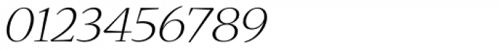 Nueva Std Ext Light Italic Font OTHER CHARS