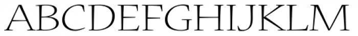 Nueva Std Ext Light Font UPPERCASE