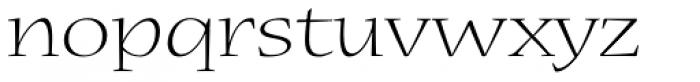 Nueva Std Ext Light Font LOWERCASE