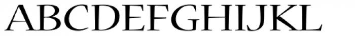 Nueva Std Ext Regular Font UPPERCASE