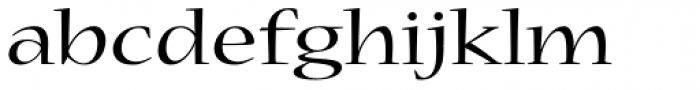 Nueva Std Ext Regular Font LOWERCASE