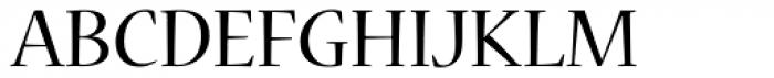 Nueva Std Regular Font UPPERCASE