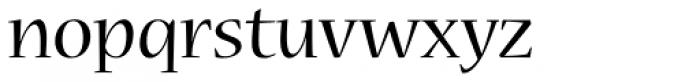 Nueva Std Regular Font LOWERCASE
