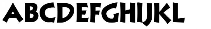 NuevoLithoPro Black Font UPPERCASE