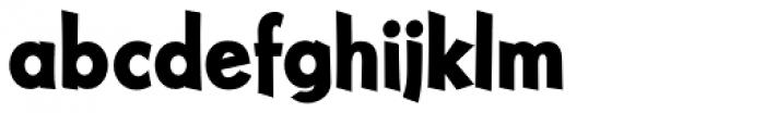 NuevoLithoPro Black Font LOWERCASE