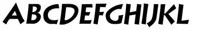 NuevoLithoPro Italic Font UPPERCASE