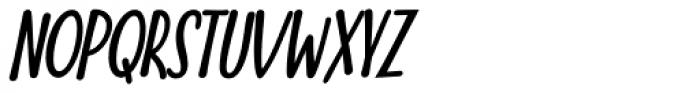 Nuit Bold Italic Font UPPERCASE