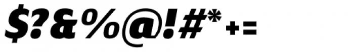 Nula Heavy Italic Font OTHER CHARS
