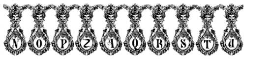 Numa Initials Font UPPERCASE