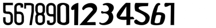 Numbers3 Font UPPERCASE