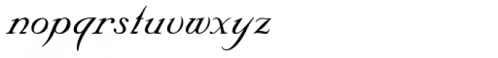 Nuptial Script Font LOWERCASE