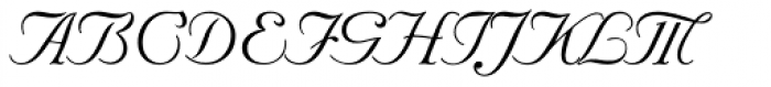 Nuptial Font UPPERCASE