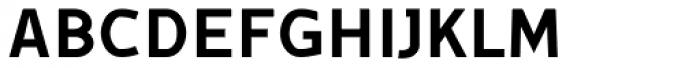 Nusaibah Bold Font UPPERCASE