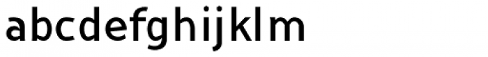 Nusaibah Regular Font LOWERCASE