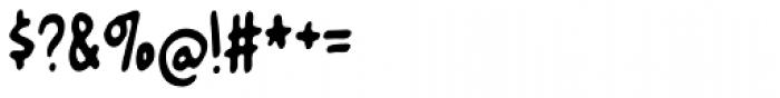 Nusqie Font OTHER CHARS
