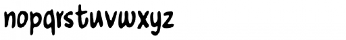 Nusqie Font LOWERCASE