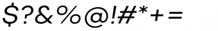 Nutmeg Headline Book Italic Font OTHER CHARS