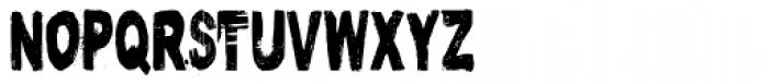 Nutnik Condensed Font UPPERCASE